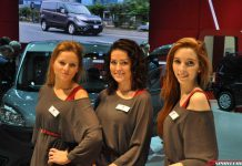 Girls of the Brussels Motor Show 2015