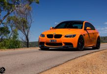 Fire Orange BMW M3