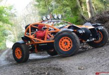 Supercharged Ariel Nomad