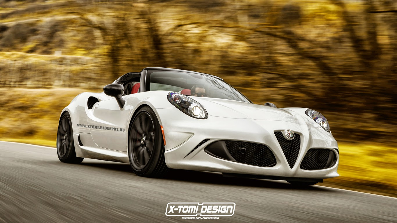 extreme alfa romeo 4c spider gta is tempting gtspirit. Black Bedroom Furniture Sets. Home Design Ideas