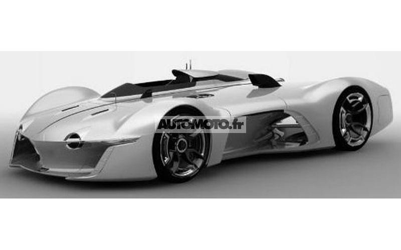 Renault Alpine Vision Gran Turismo Concept Leaks Gtspirit