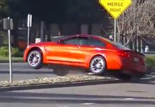 BMW M4 Crashing Video