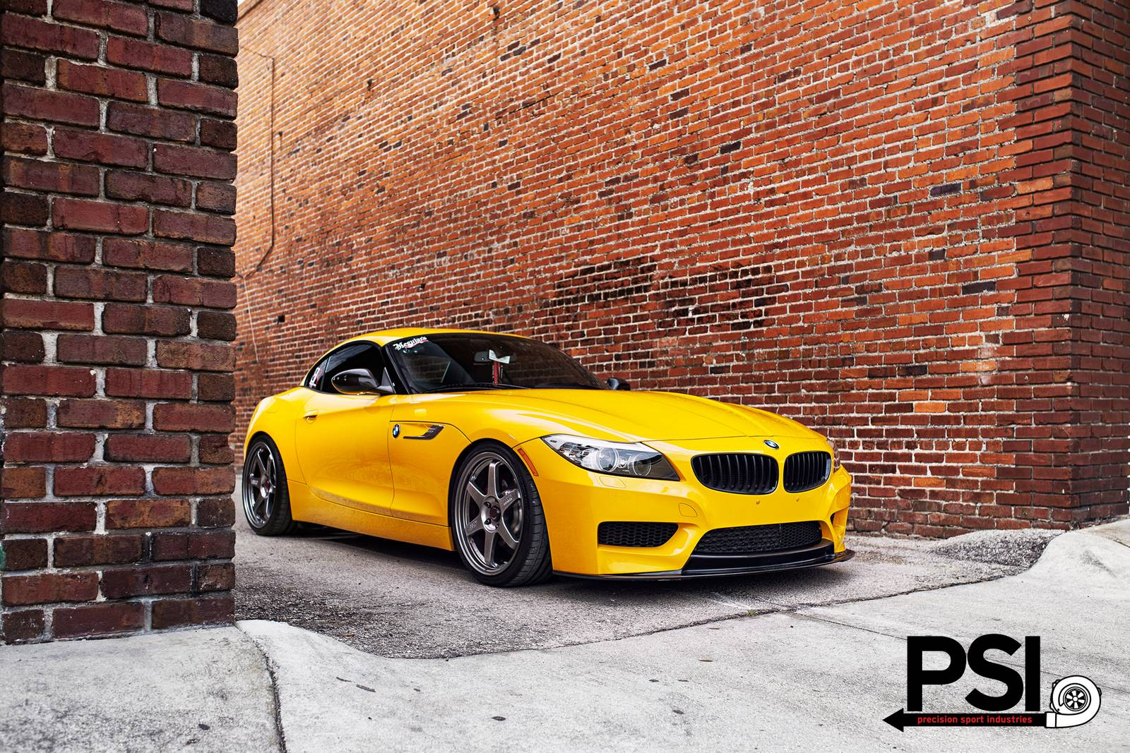 Full Yellow Jacket Bmw Z4 By Precision Sport Industries