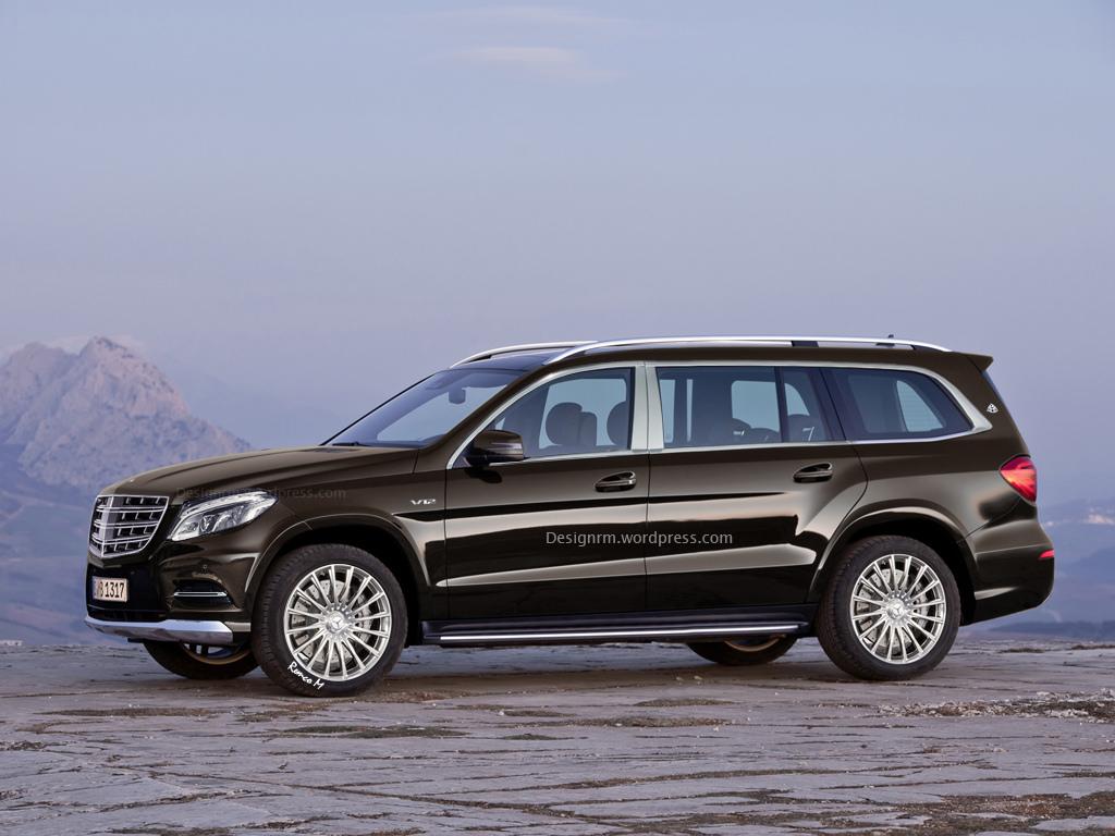 Mercedes benz gls rendered as range topping maybach gtspirit for Mercedes benz range