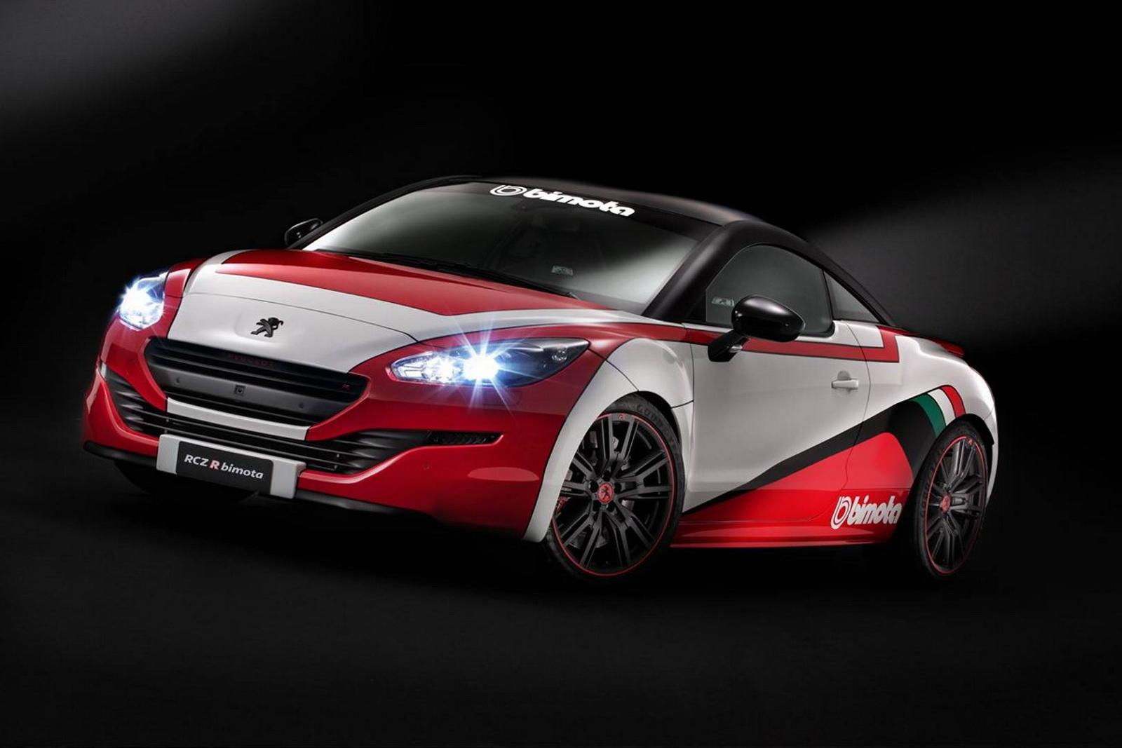 Official: 2015 Peugeot RCZ R Bimoto Special Edition - GTspirit