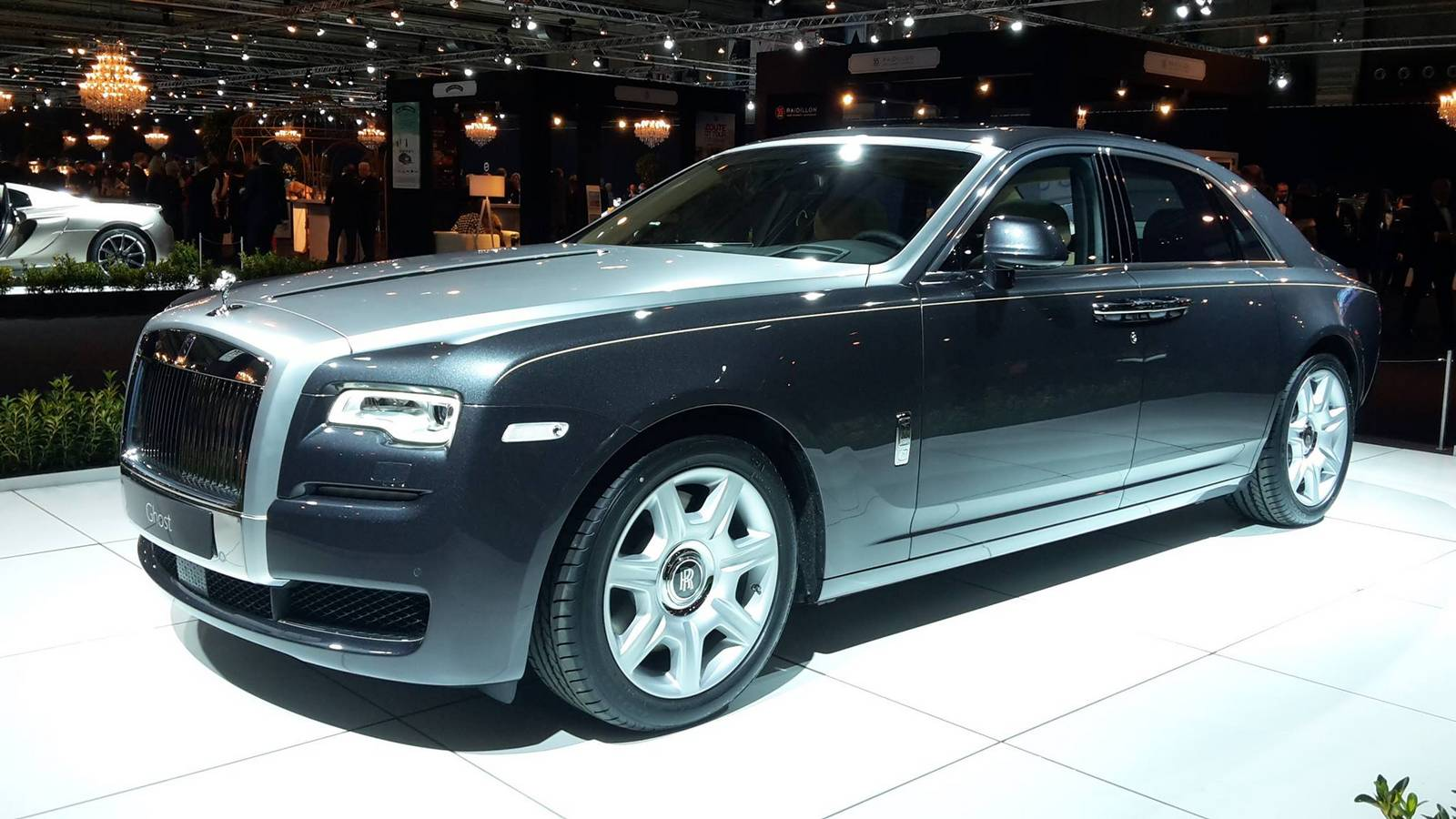 Rolls Royce At The Brussels Motor Show 2015