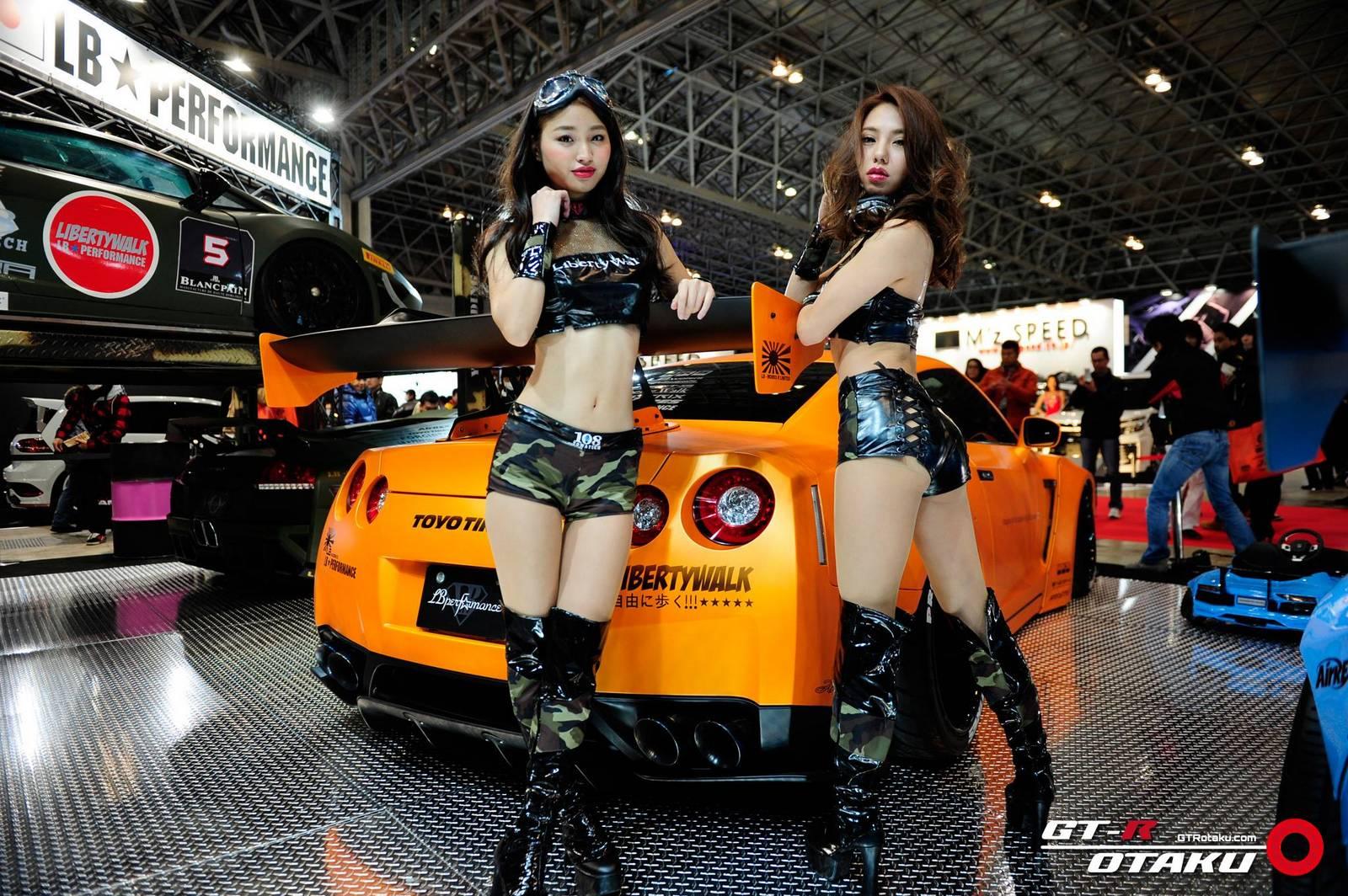 Girls Of Tokyo Auto Salon 2015 Gtspirit