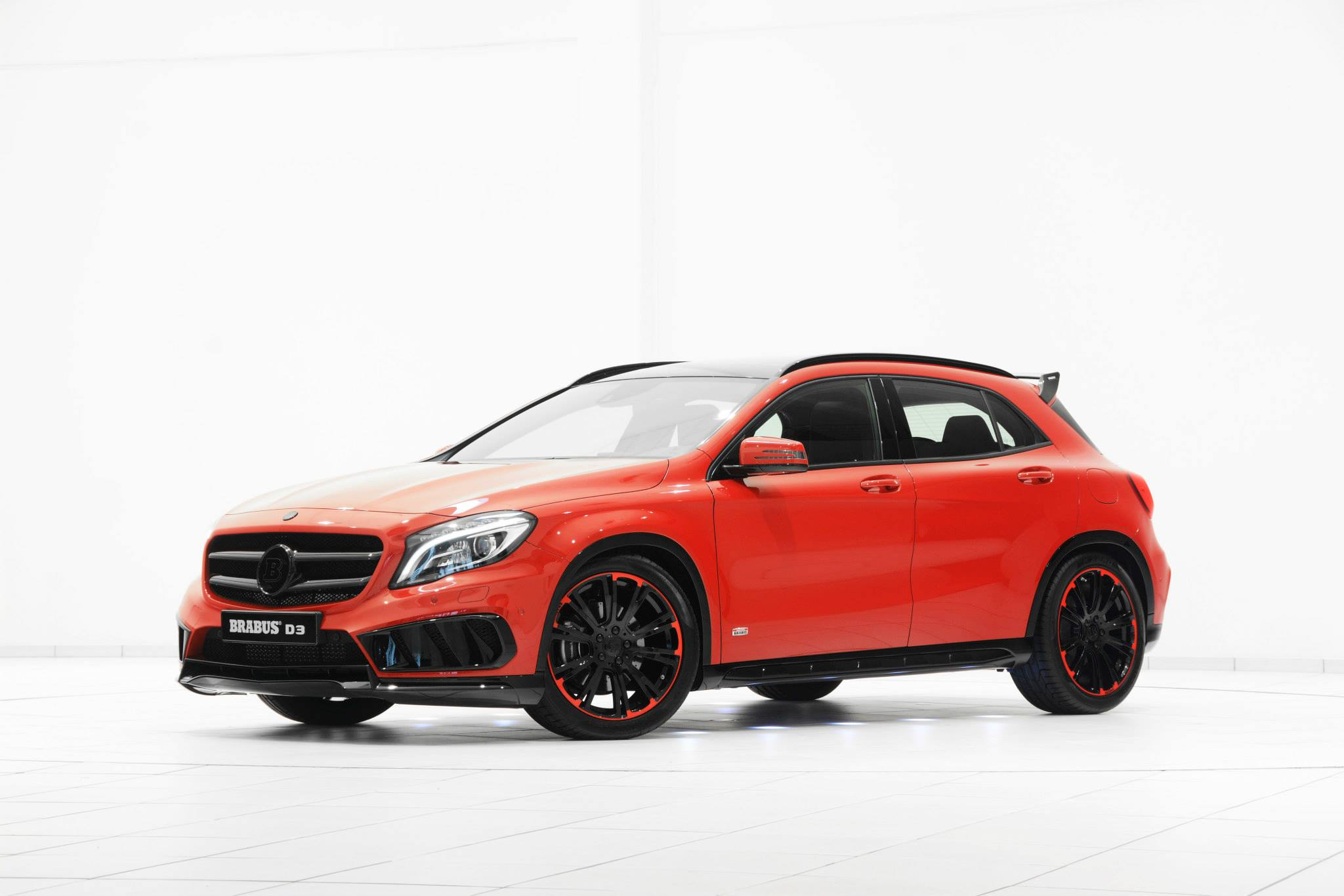 Latest brabus mercedes benz gla kit revealed gtspirit for The newest mercedes benz