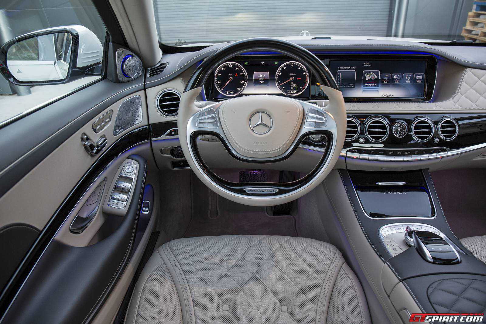 2016 mercedes maybach s 600 interior