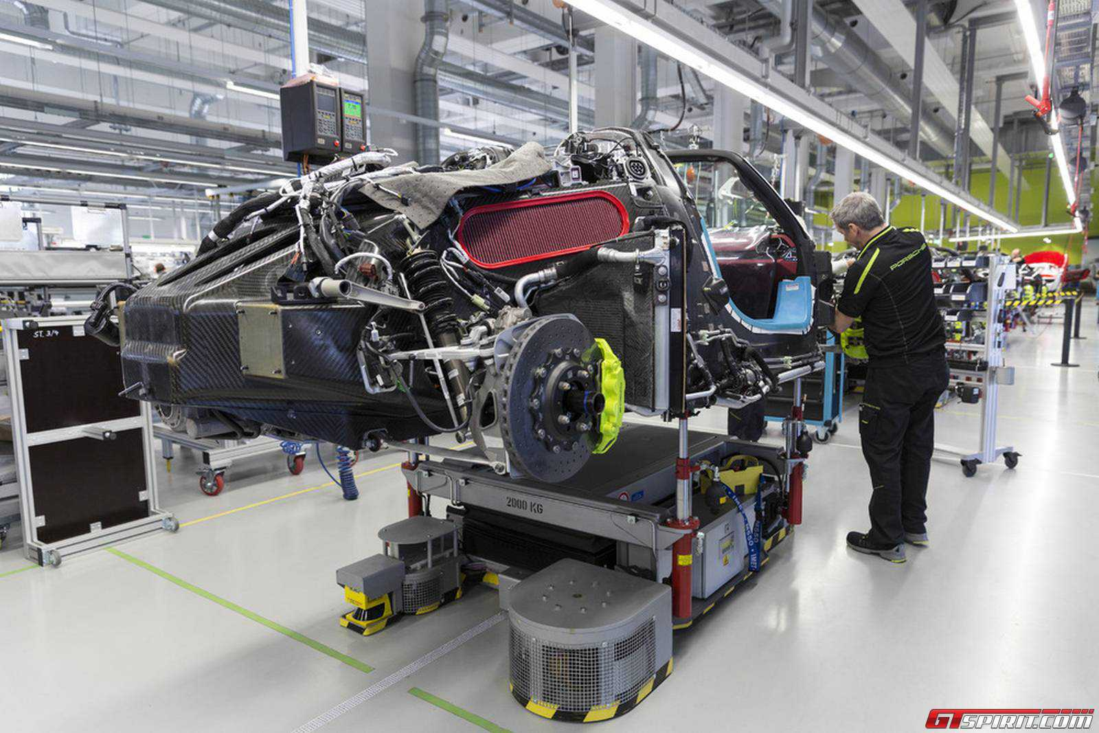 discover the porsche 918 spyder manufacturing process