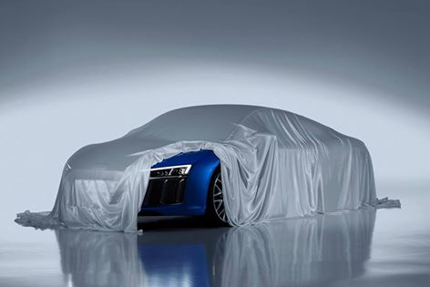 Audi Reveals Laser Headlights for Next Generation R8