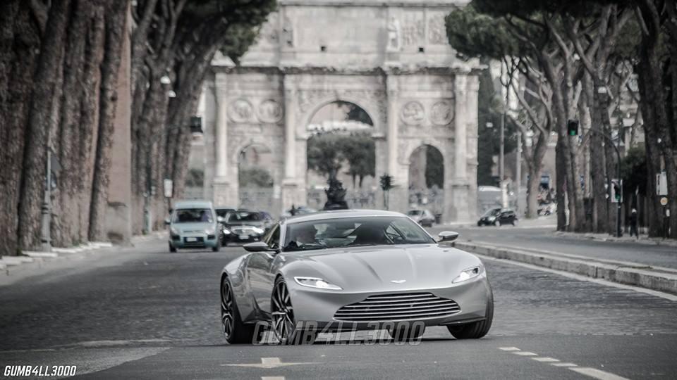 Exclusive Aston Martin Db10 Photos From James Bond S