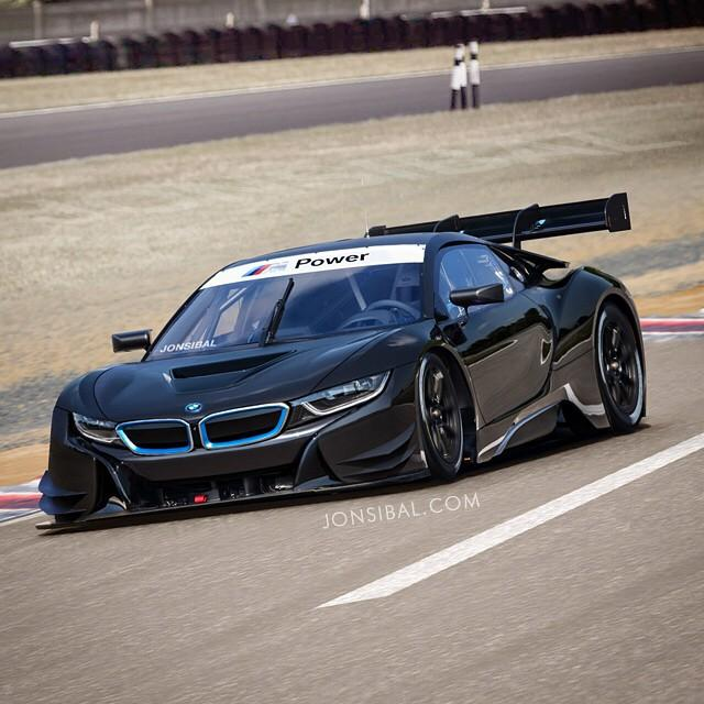 BMW I8 Race Car Rendered