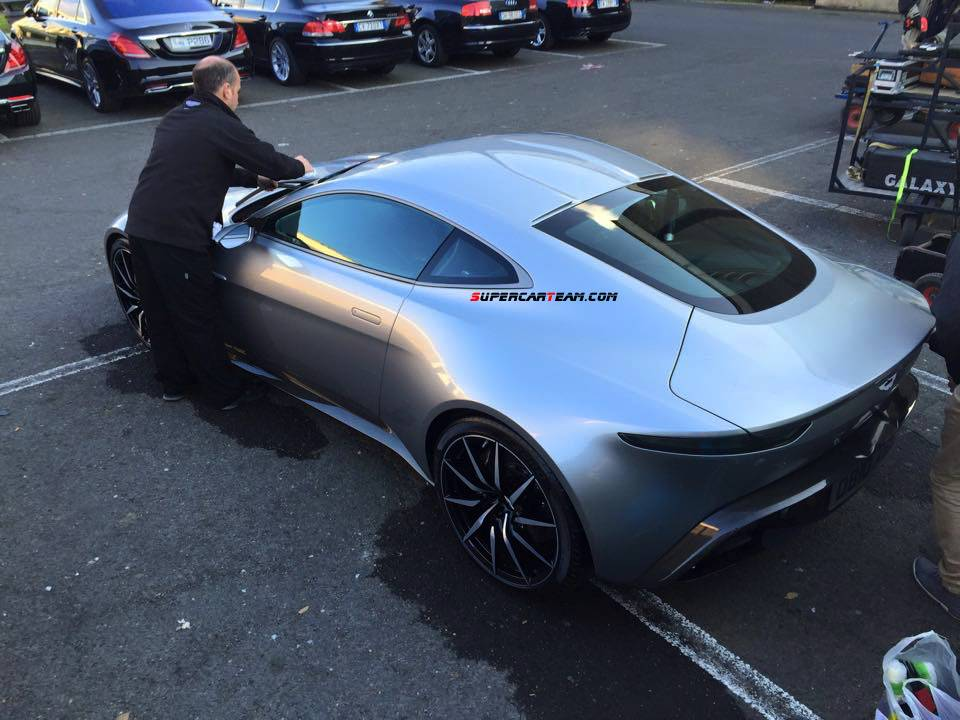 exclusive aston martin db10 photos from james bond 39 s spectre gtspirit. Black Bedroom Furniture Sets. Home Design Ideas