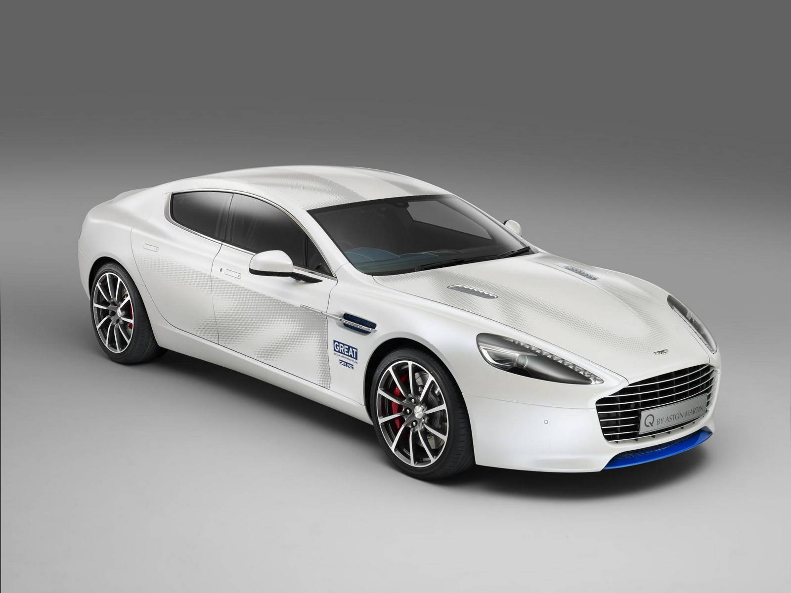 British Themed Q by Aston Martin Rapide S Revealed GTspirit