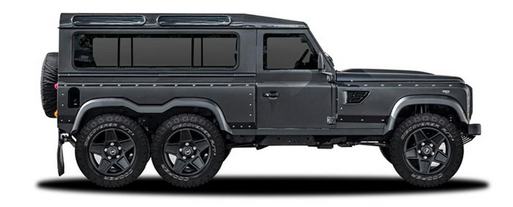 Kahn Design Previews Land Rover Defender 6x6 for Geneva - GTspirit
