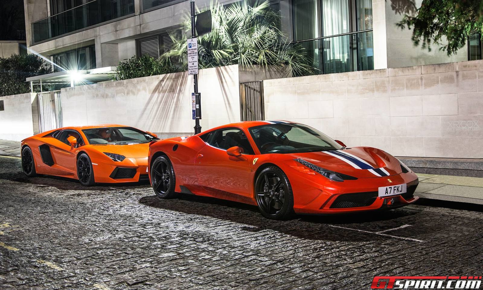 Photo Of The Day: Lamborghini Aventador & Ferrari 458 Speciale ...