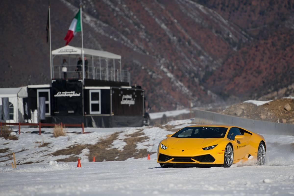 Lamborghini Winter Academy Thriller in Aspen Snowmass