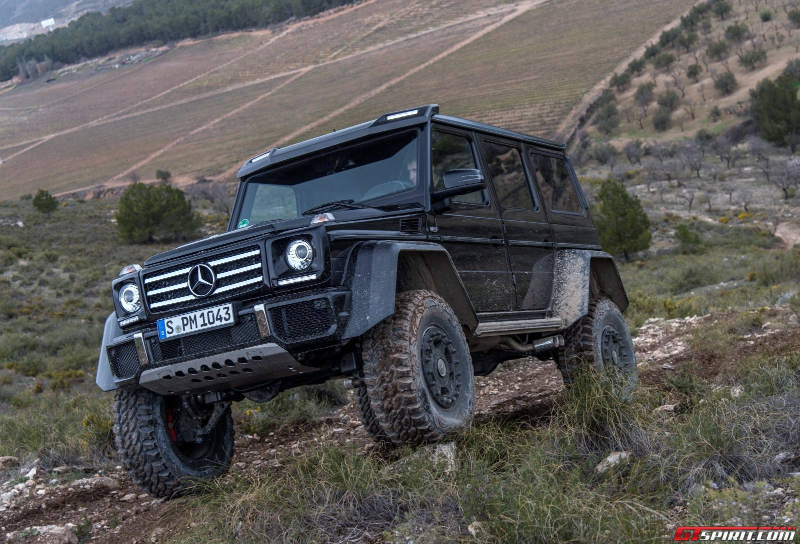 Exclusive MercedesBenz G X² Review GTspirit - Cool cars 4x4