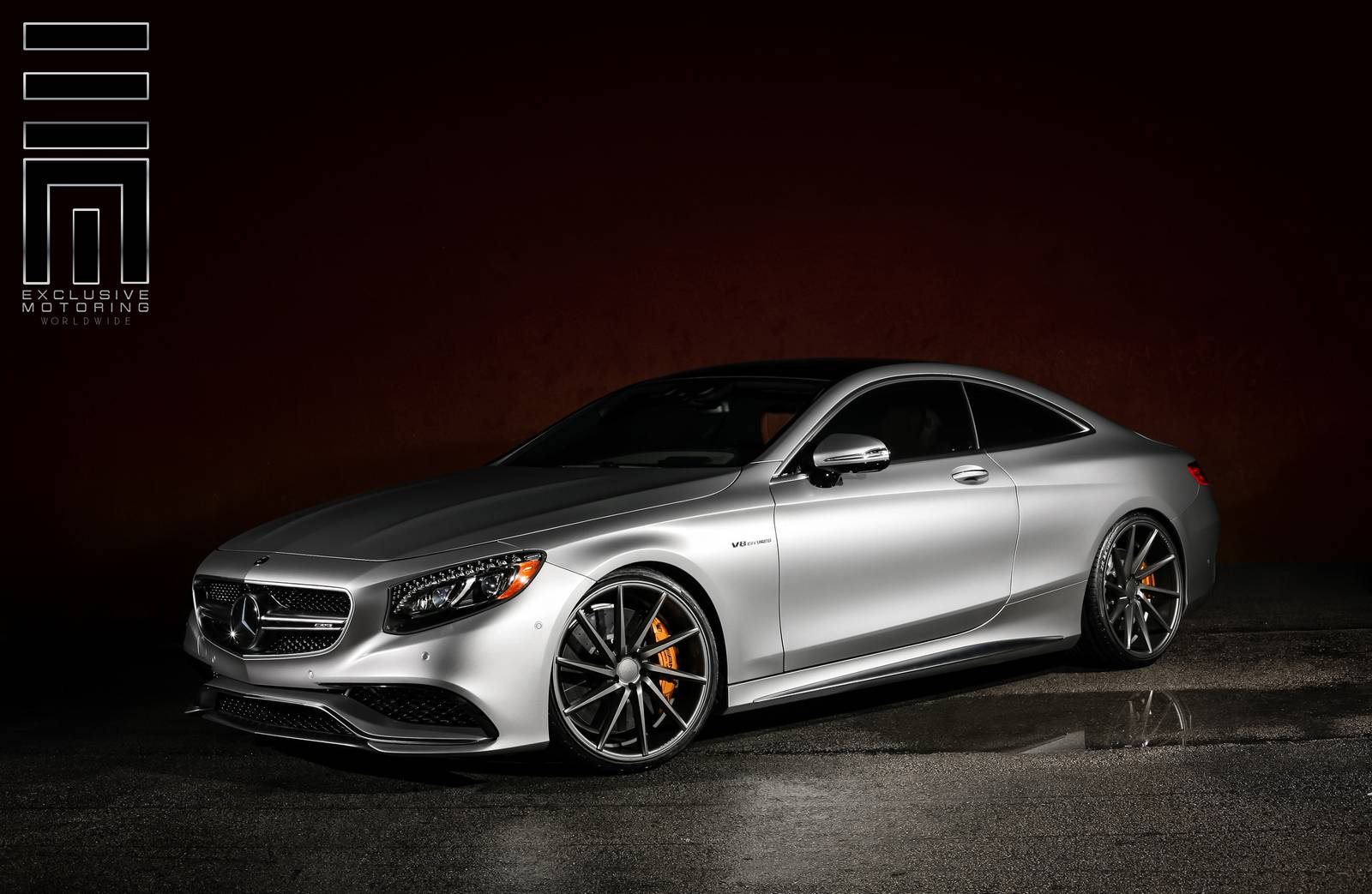 Mercedes benz s63 amg coupe stuns on vossen wheels gtspirit for Mercedes benz s63 amg coupe price