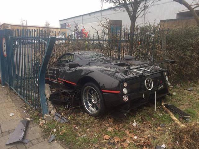 Unique Pagani Zonda Gj Crashed Again Gtspirit