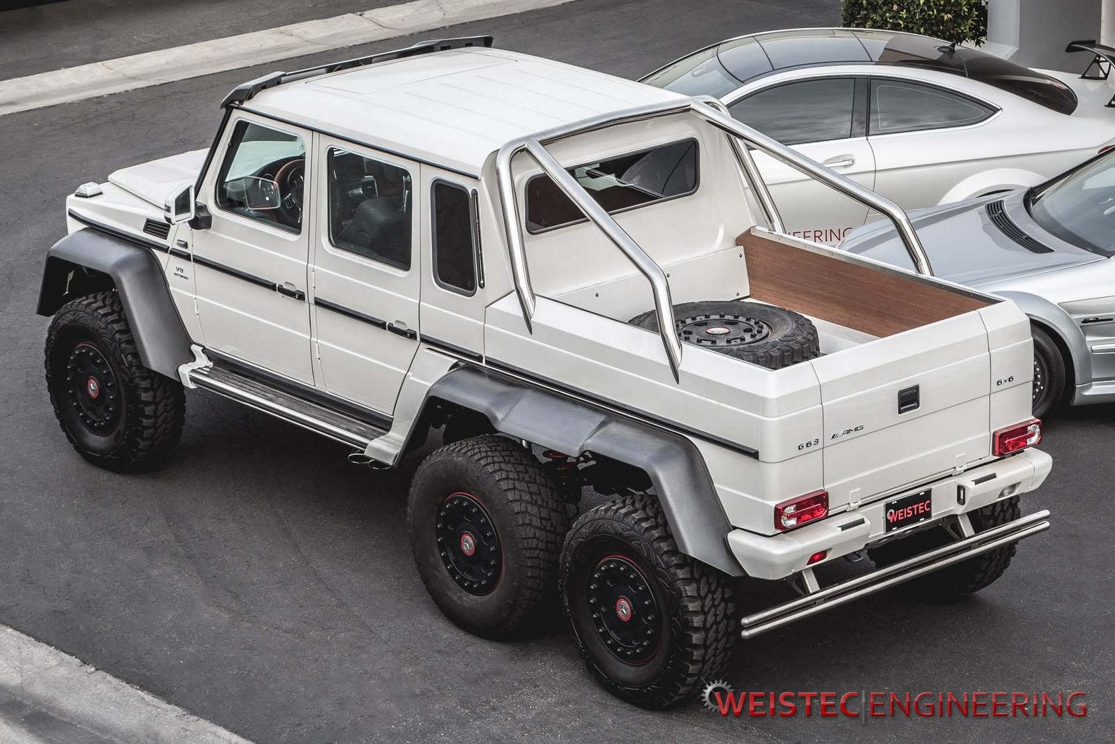 Official Mercedes Benz G63 Amg 6x6 By Weistec Engineering