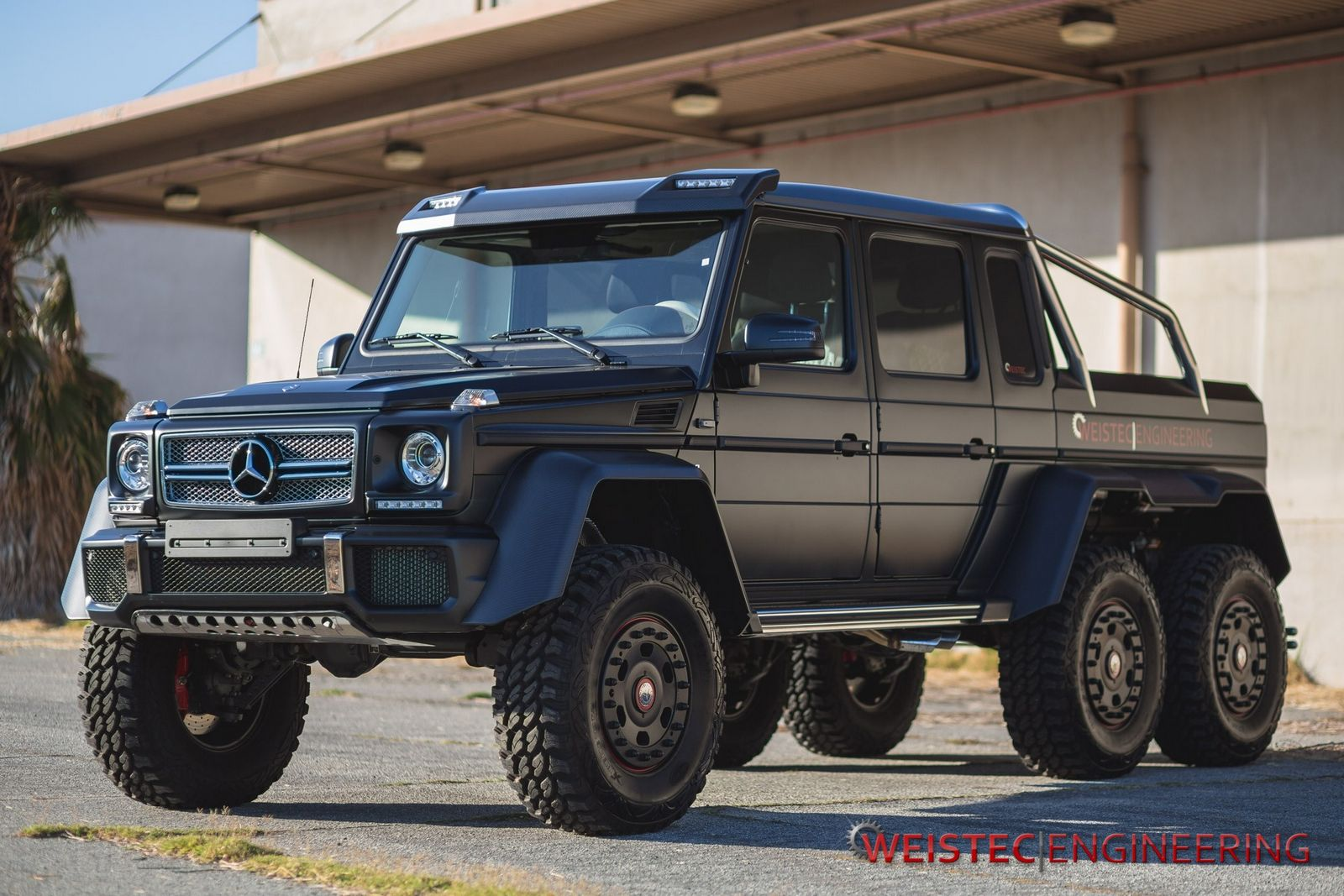 Official mercedes benz g63 amg 6x6 by weistec engineering for Mercedes benz g63 amg for sale