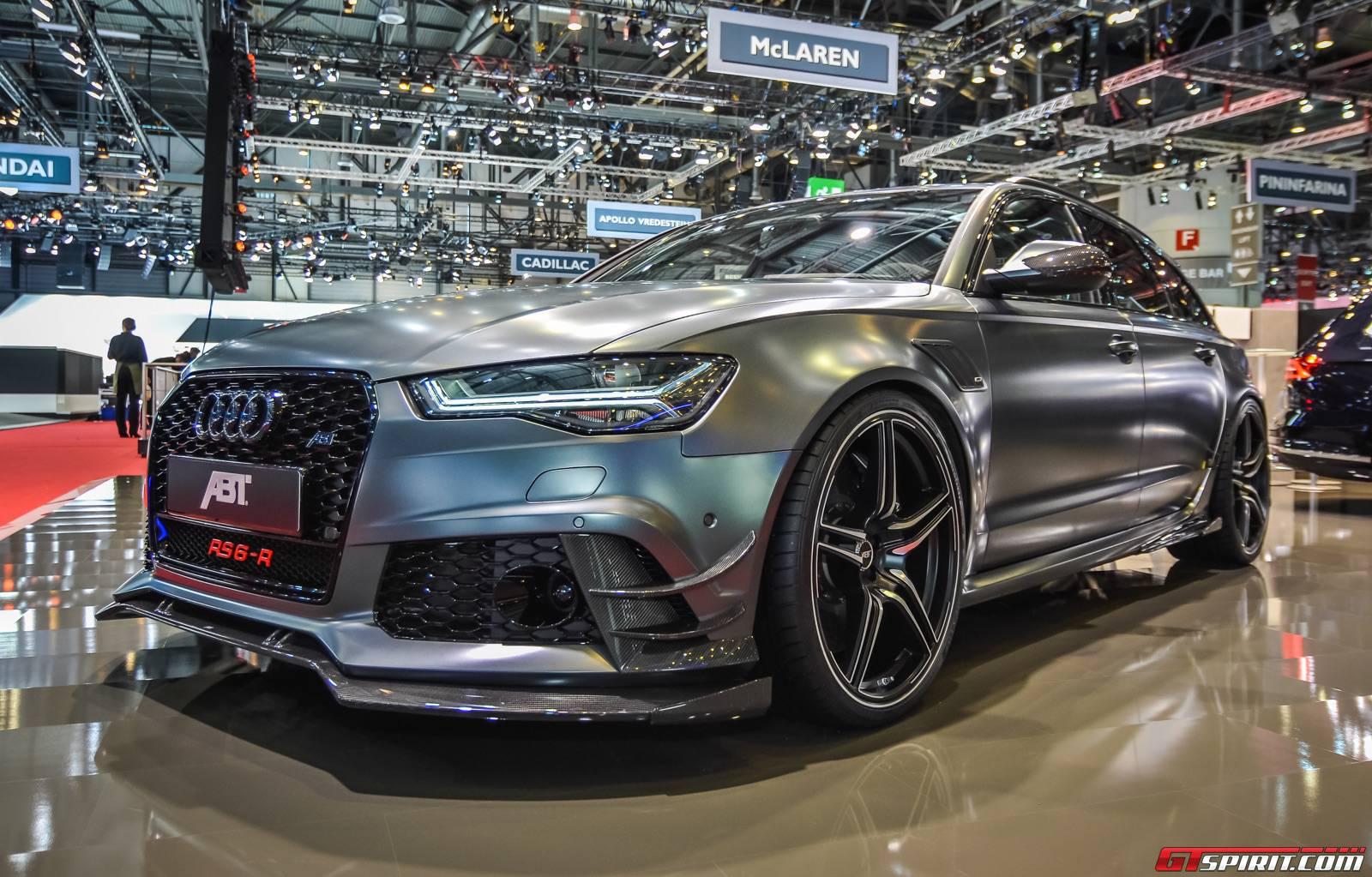 Geneva 2015 abt rs6 r gtspirit - Geneva car show ...