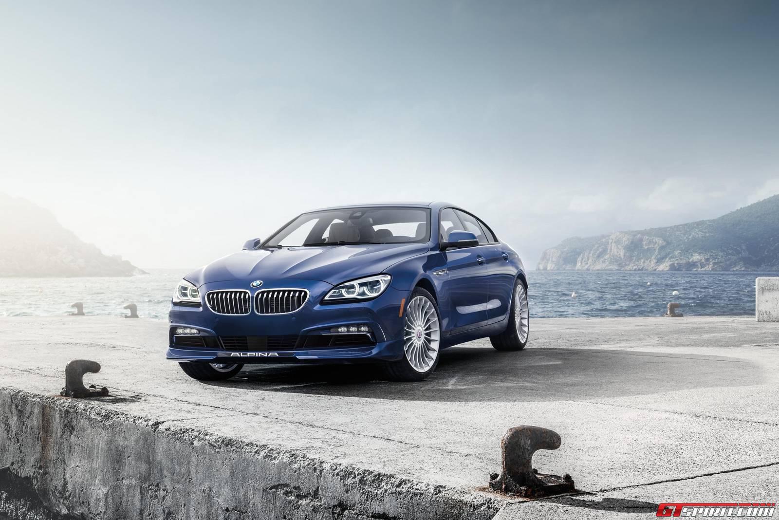 Official BMW Alpina B XDrive Gran Coupe GTspirit - Alpina b6 xdrive gran coupe