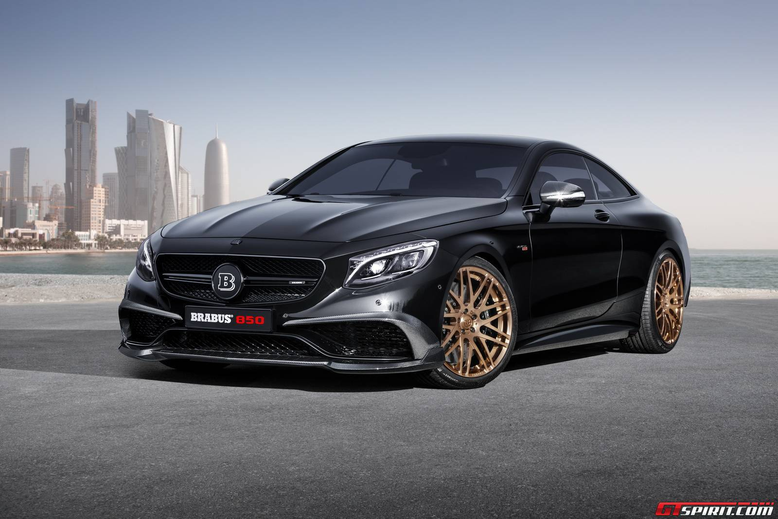 Exceptional Brabus 850 Mercedes Benz S63 AMG Coupe