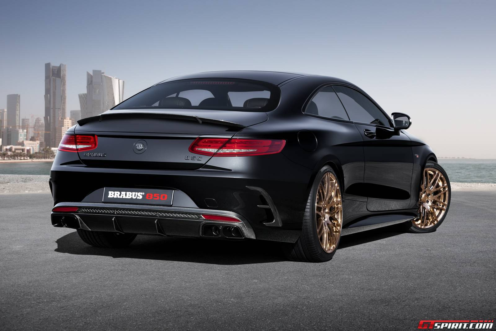 Official Brabus 850 Mercedes Benz S63 Amg Coupe Gtspirit
