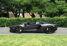1 of 1 Nero Lamborghini Aventador