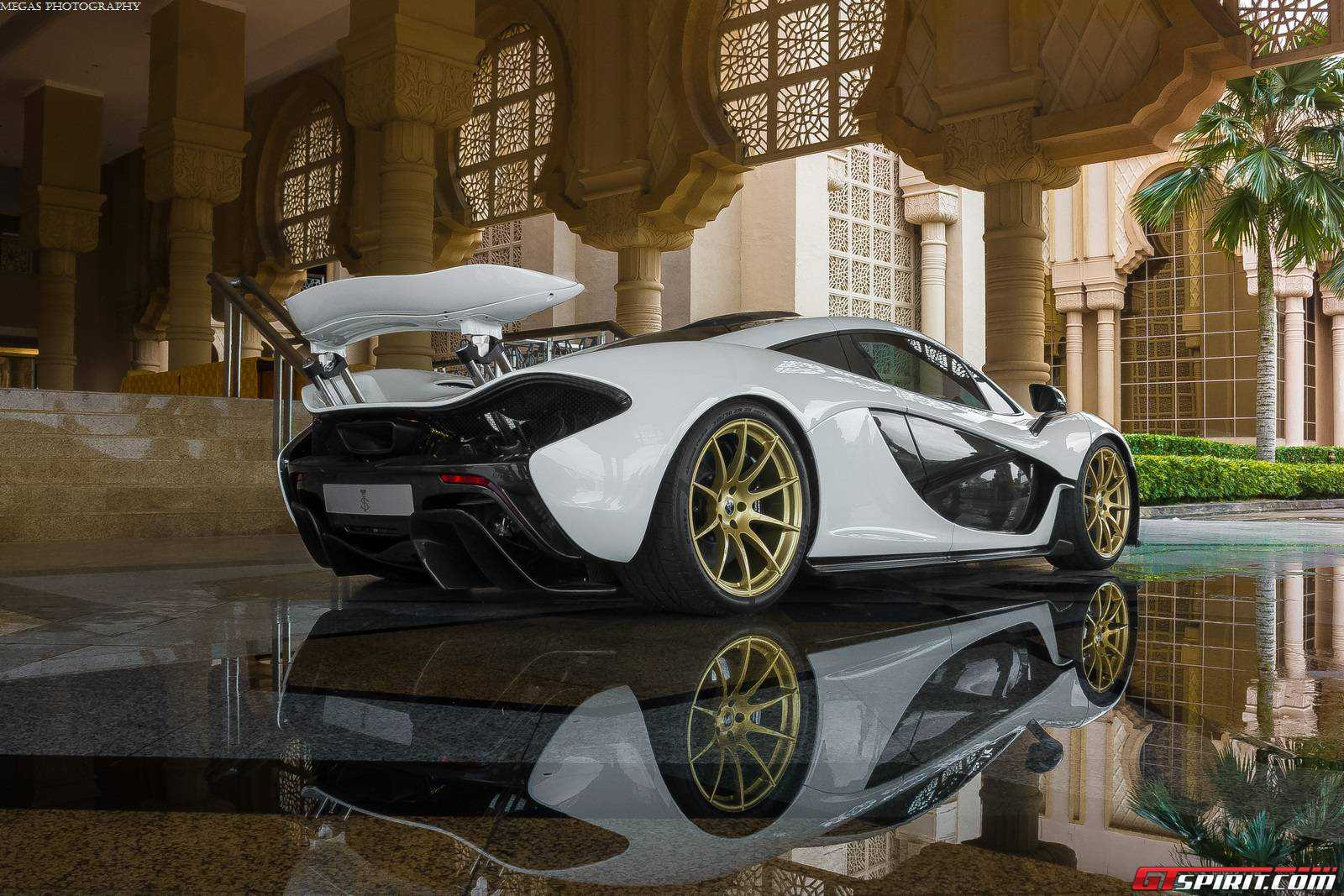 GTspirit Owners Club White Gold MSO McLaren P1