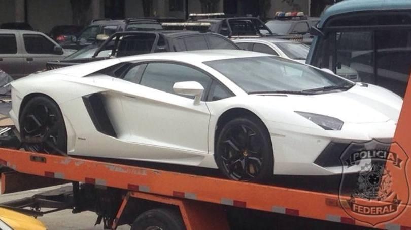 Lamborghini Aventador Eike Batista