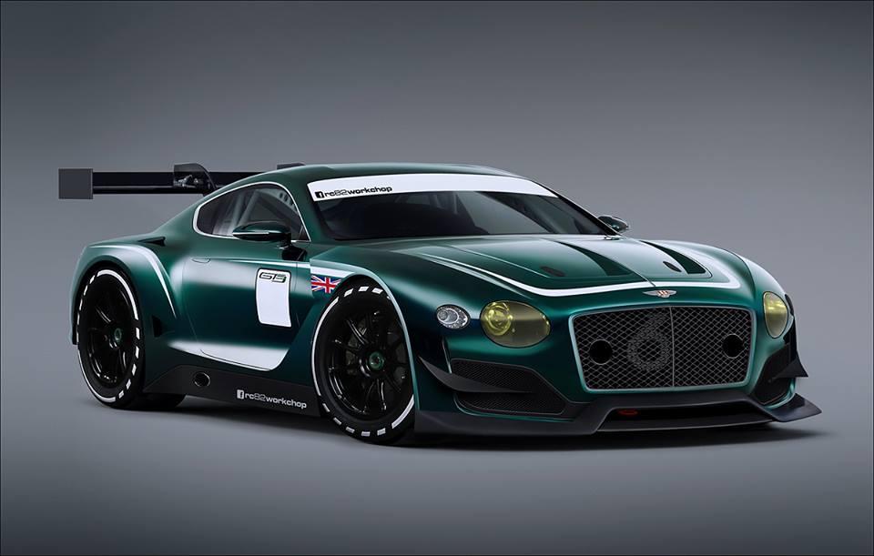 Hardcore Bentley Exp 10 Speed 6 Gt3 Concept Imagined Gtspirit