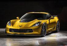 Chevrolet Corvette Z06 sets Nurburgring lap