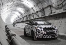 Range Rover Evoque Convertible debuting in November