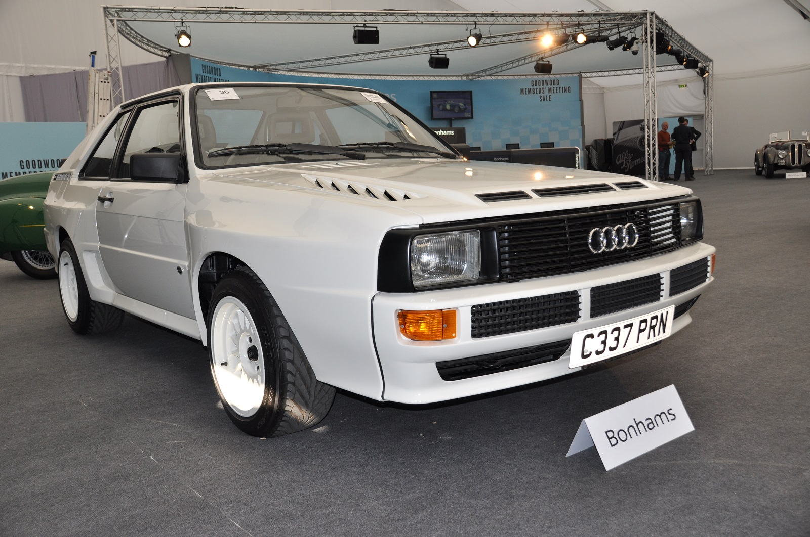 audi quattro 395 000 record at bonhams 39 goodwood sale gtspirit. Black Bedroom Furniture Sets. Home Design Ideas