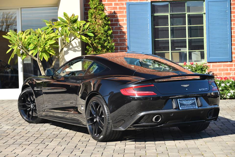 New Aston Martin Vanquish Carbon Black Edition For Sale GTspirit - Black aston martin vanquish
