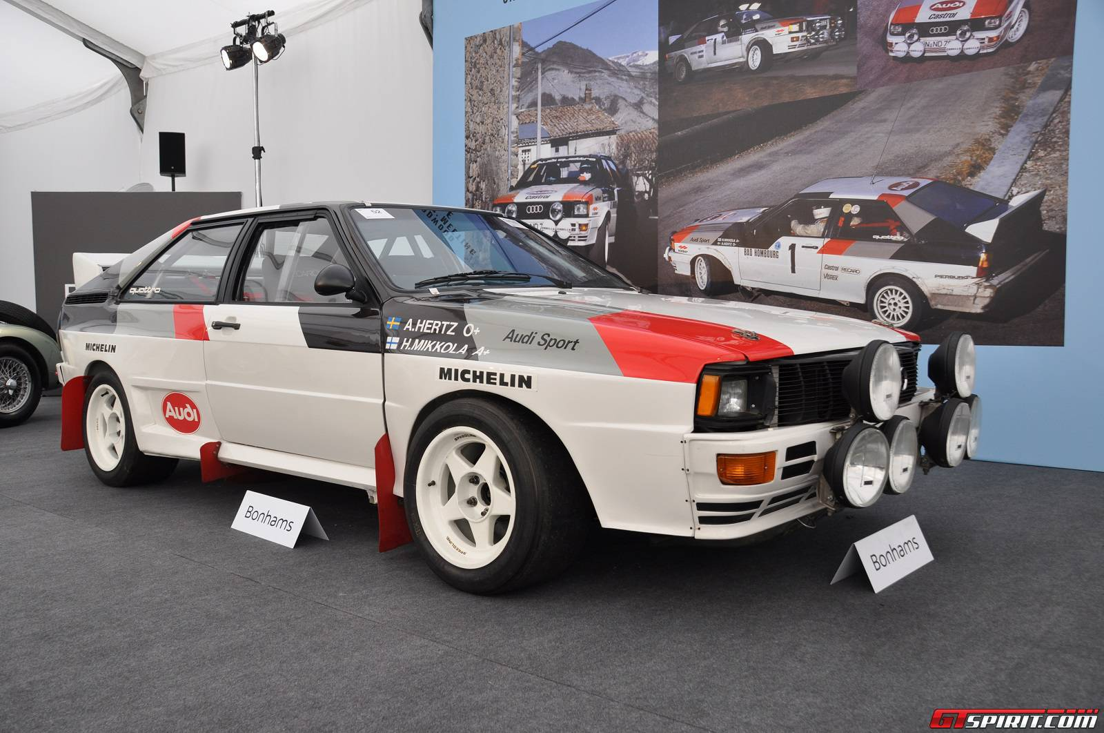 Audi Quattro Record At Bonhams Goodwood Sale GTspirit - Audi quattro coupe for sale