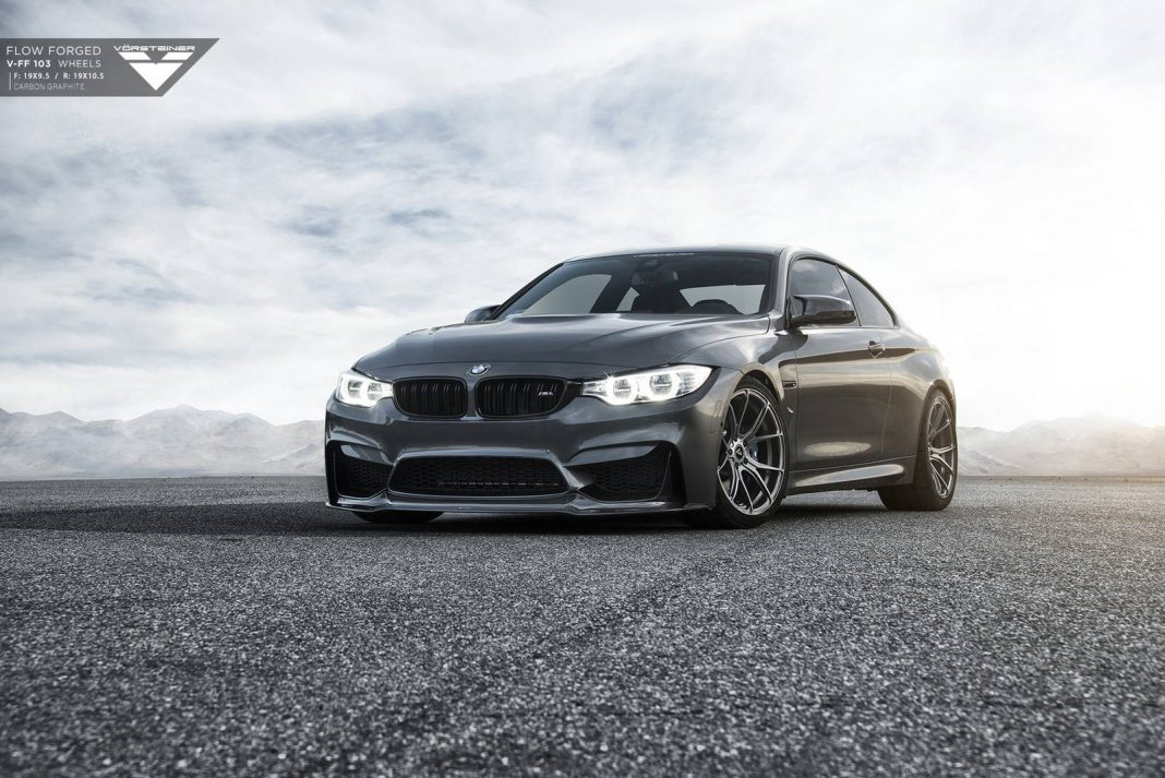 mineral grey bmw m4 with carbon graphite vorsteiner wheels. Black Bedroom Furniture Sets. Home Design Ideas