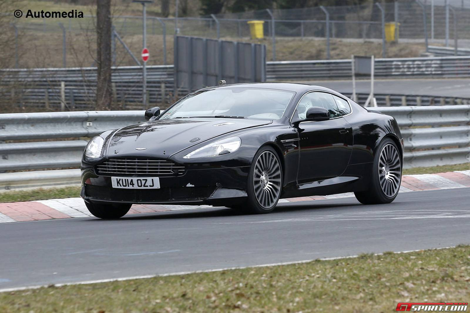 Next Aston Martin DB Likely Getting Turbocharged V GTspirit - Db9 aston martin