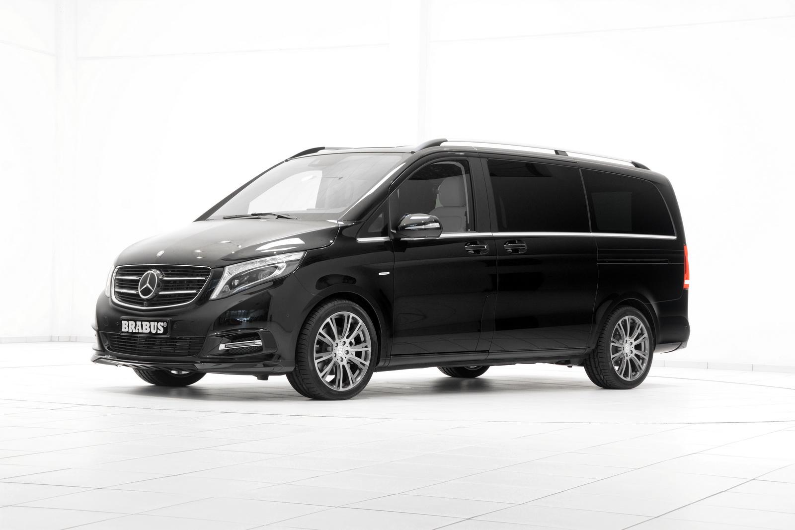Official: Brabus Mercedes-Benz V-Class - GTspirit