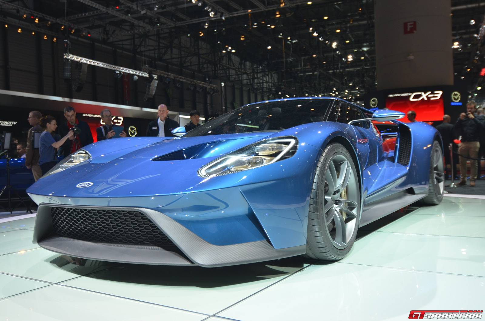 ford gt at the geneva motor show 2015 - 2015 Ford Gt Auto Show