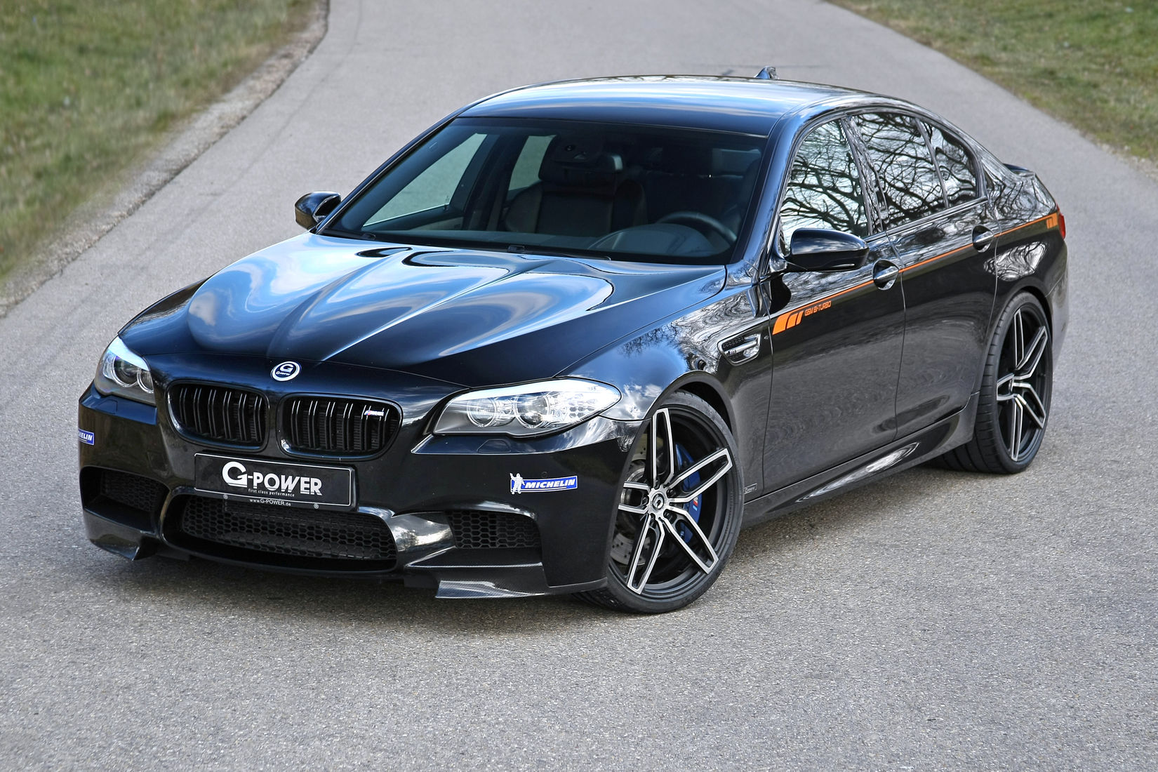 official bmw f10 m5 by g power gtspirit. Black Bedroom Furniture Sets. Home Design Ideas