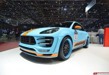 Hamann Porsche Macan at the Geneva Motor Show 2015