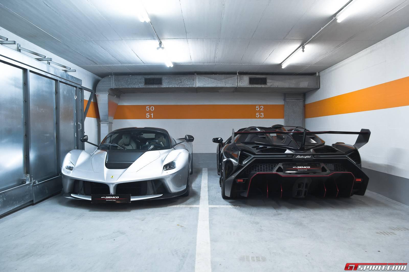 Exclusive: LaFerrari and Lamborghini Veneno Photoshoot! - GTspirit on la ferrari vs corvette, la ferrari vs koenigsegg, la ferrari vs bugatti, la ferrari vs mustang,