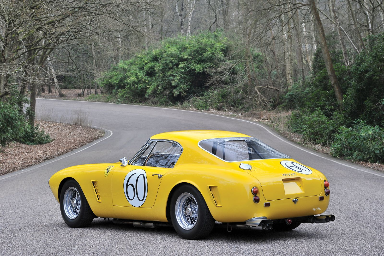 rare 1960 ferrari 250 gt swb berlinetta competizione going to auction gtspirit. Black Bedroom Furniture Sets. Home Design Ideas