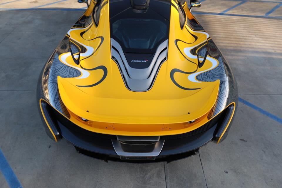 McLaren P1 Art Wrap