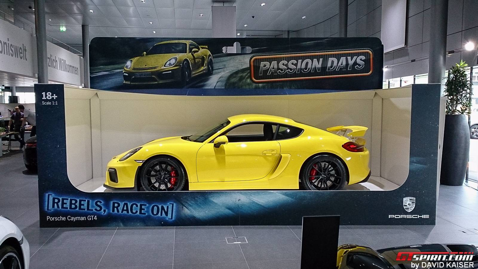 Porsche Presents Cayman Gt4 As Full Sized Toy Car Gtspirit